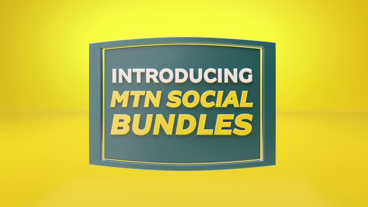 Social Media Bundles on MTN